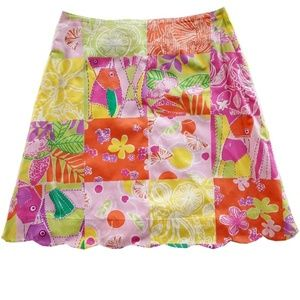 LILLY PULITZER Girl' A-Line Skirt Lined